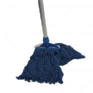 "Mop Cotton 350 Gr ""COLOR BLUE"" Complete"